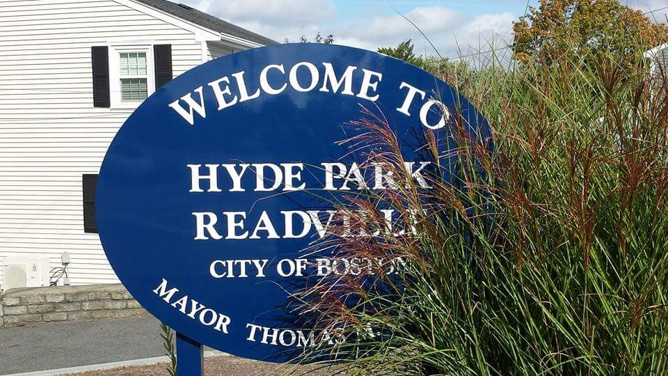 Readville Sign