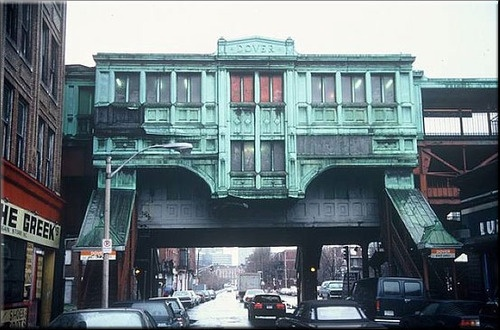 Green Street El Train